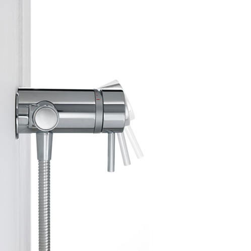 Mira - Element SLT EV Thermostatic Shower Mixer - Chrome - 1.1656.011 Feature Large Image
