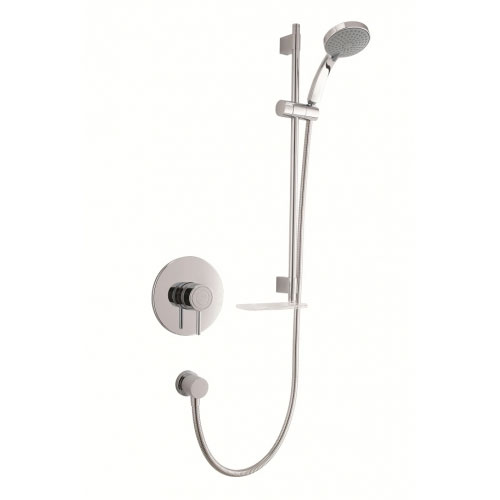 Mira - Element SLT BIV Thermostatic Shower Mixer - Chrome - 1.1656.012 profile large image view 1