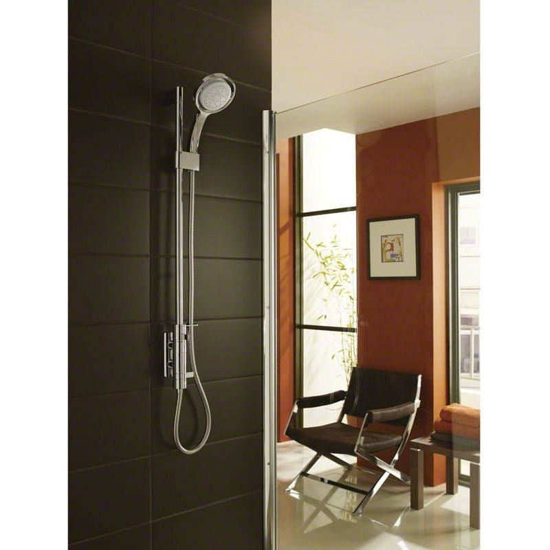 Mira - Myline EV Thermostatic Shower Mixer - Chrome - 1.1660.017 profile large image view 5