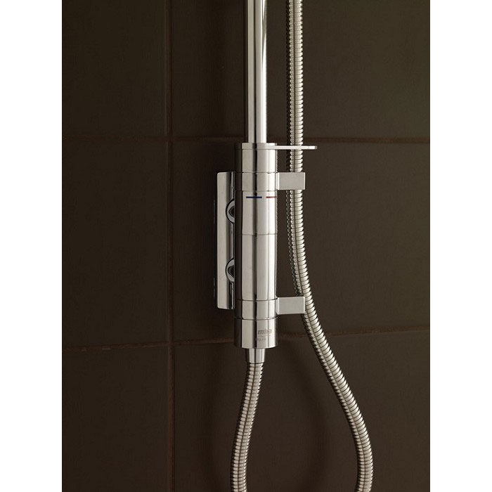 Mira - Myline EV Thermostatic Shower Mixer - Chrome - 1.1660.017 profile large image view 4