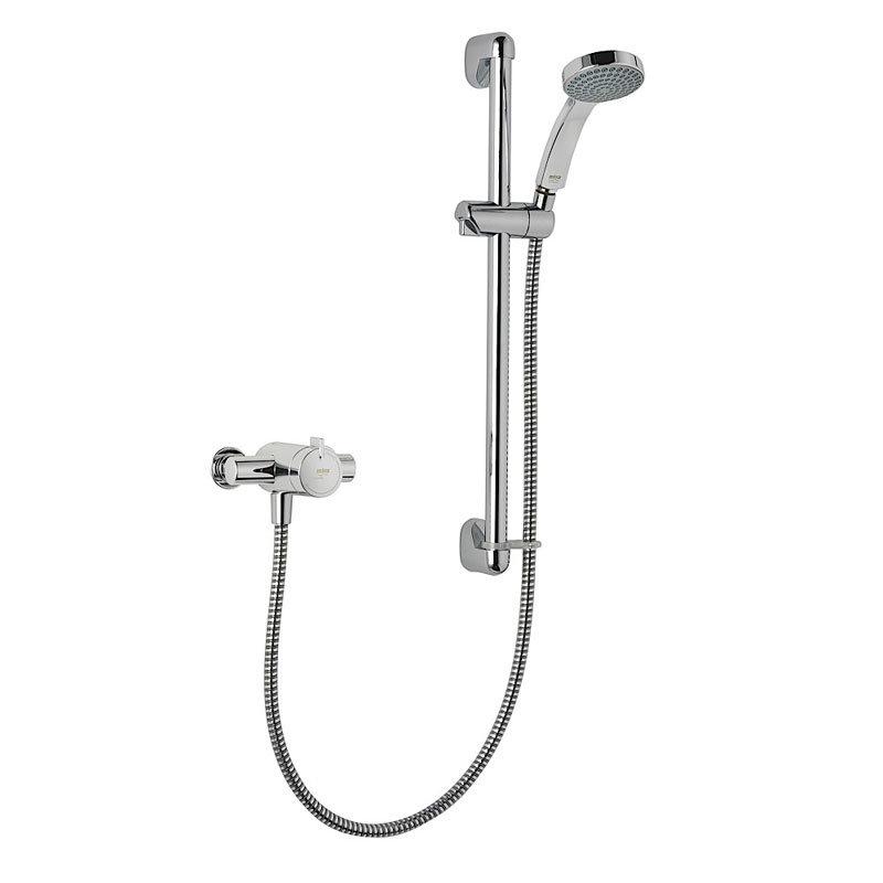 Mira - Minilite EV Thermostatic Shower Mixer - Chrome - 1.1663.003 Large Image