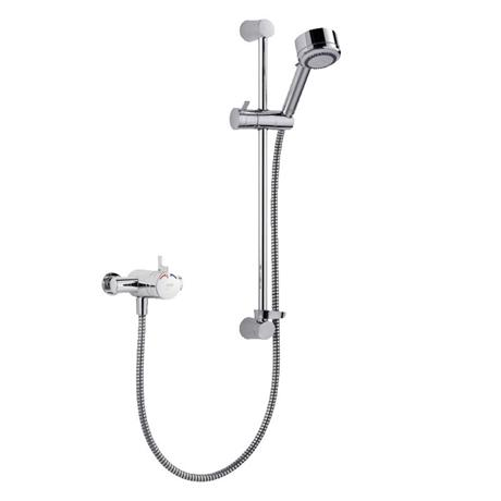 Mira - Miniduo EV Thermostatic Shower Mixer - Chrome - 1.1663.004