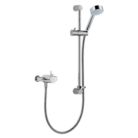 Mira - Miniduo EV Thermostatic Shower Mixer - Chrome - 1.1663.004