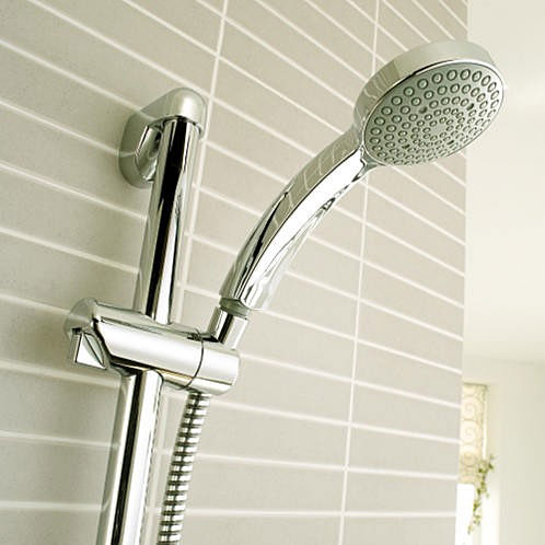 Mira - Minilite BIV Thermostatic Shower Mixer - Chrome - 1.1663.007 profile large image view 2