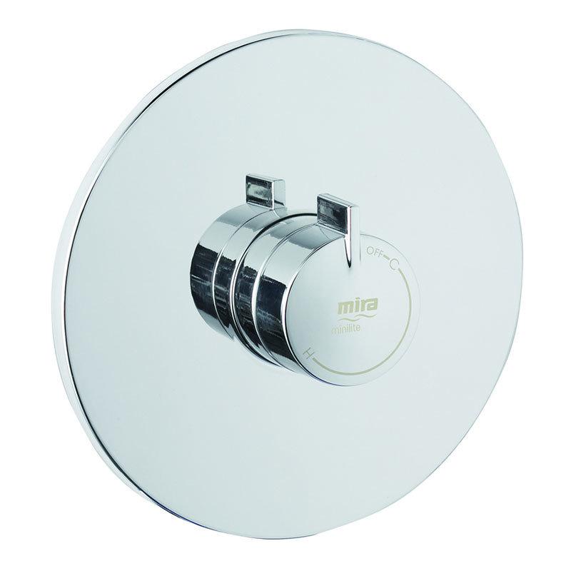 Mira - Minilite BIV Thermostatic Shower Mixer - Chrome - 1.1663.007 profile large image view 3