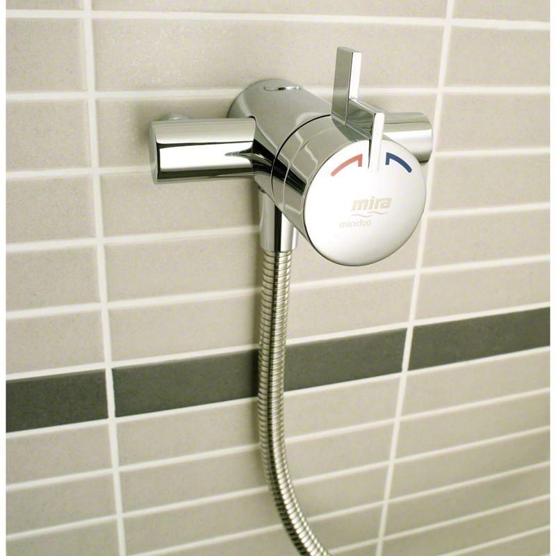 Mira - Miniduo EV Eco Thermostatic Shower Mixer - Chrome - 1.1663.241 Standard Large Image