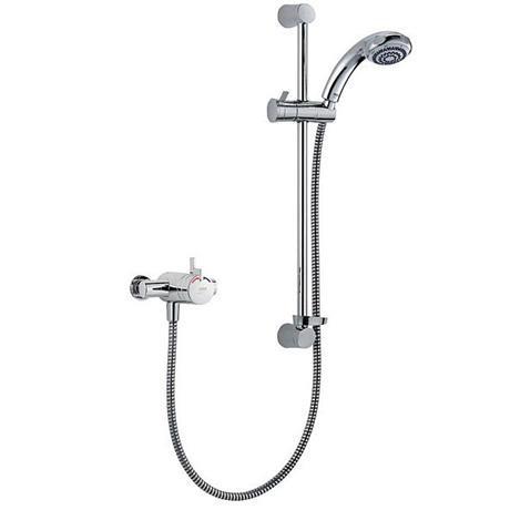 Mira - Miniduo EV Eco Thermostatic Shower Mixer - Chrome - 1.1663.241