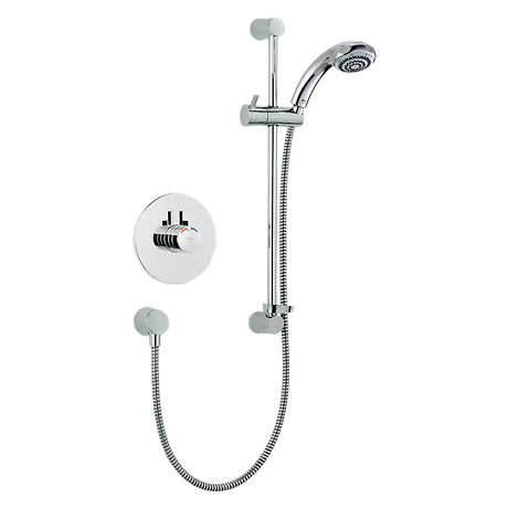Mira - Miniduo BIV Eco Thermostatic Shower Mixer - Chrome - 1.1663.242
