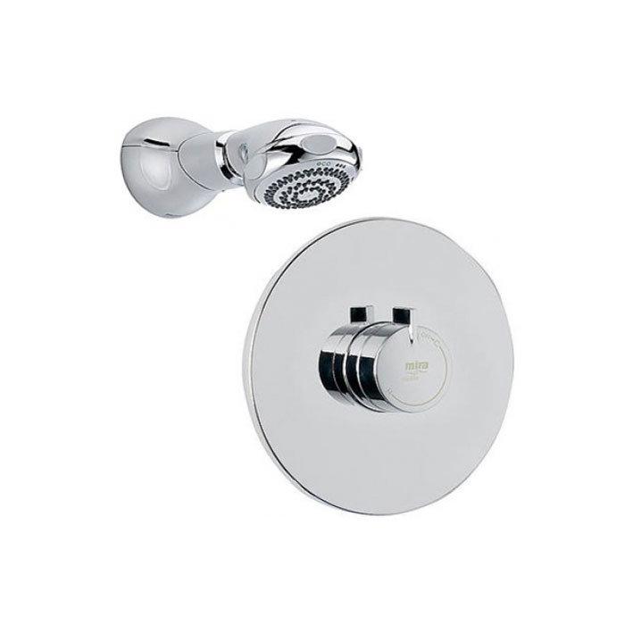 Mira - Miniduo BIR Eco Thermostatic Shower Mixer - Chrome - 1.1663.243 Large Image