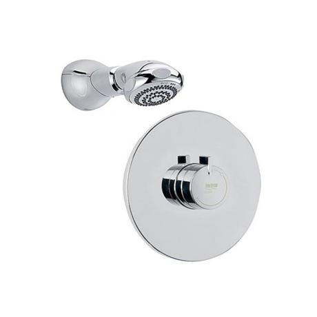 Mira - Miniduo BIR Eco Thermostatic Shower Mixer - Chrome - 1.1663.243
