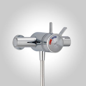 Mira - Select EV Flex Thermostatic Shower Mixer - Chrome - 1.1679.001 profile large image view 2
