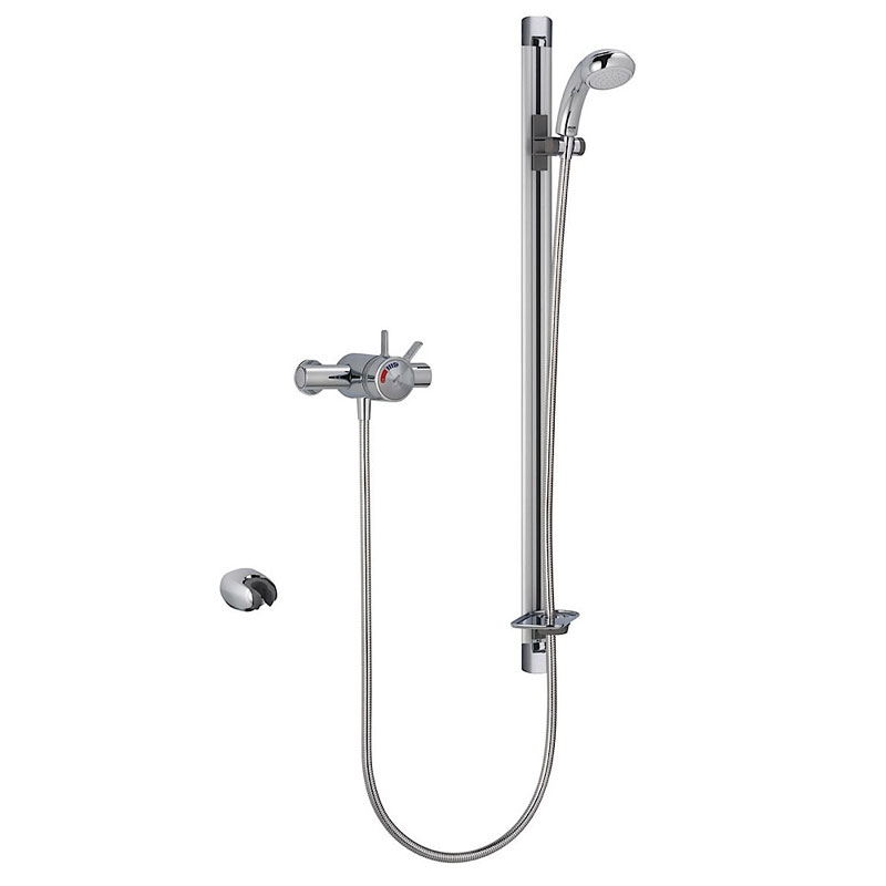 Mira - Select EV Flex Thermostatic Shower Mixer - Chrome - 1.1679.001 Large Image