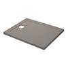 Mira Flight Safe Anti-Slip Rectangular Shower Tray - Taupe profile small image view 1