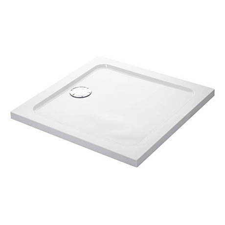 Mira Flight Low Square Shower Tray