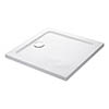 Mira Flight Low Square Shower Tray profile small image view 1
