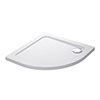 Mira Flight Low Quadrant Shower Tray profile small image view 1