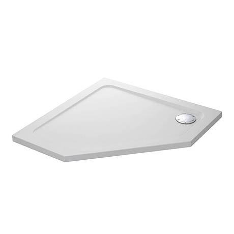 Mira Flight Safe Anti-Slip Pentagon Shower Tray 900 x 900mm