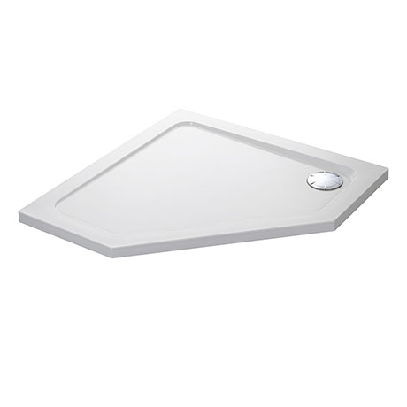 Mira Flight Low Pentagon Shower Tray 900 x 900mm