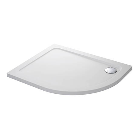 Mira Flight Safe Left Hand Anti-Slip Offset Quadrant Shower Tray