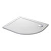 Mira Flight Safe Left Hand Anti-Slip Offset Quadrant Shower Tray profile small image view 1