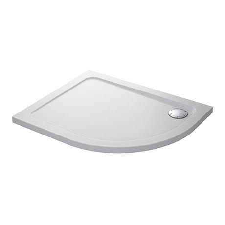 Mira Flight Low Left Hand Offset Quadrant Shower Tray