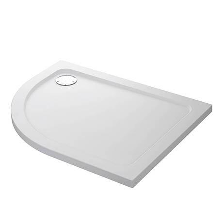 Mira Flight Safe Right Hand Anti-Slip Offset Quadrant Shower Tray