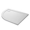Mira Flight Safe Right Hand Anti-Slip Offset Quadrant Shower Tray profile small image view 1
