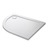Mira Flight Low Right Hand Offset Quadrant Shower Tray profile small image view 1