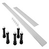 Mira Flight Low Riser Conversion Kit for 900x760mm Rectangular & 760-900mm Square Trays profile small image view 1