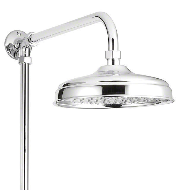 Mira - Realm ERD Traditional Thermostatic Shower Mixer with Diverter - Chrome - 1.1735.002 profile large image view 2