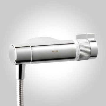Mira - Agile Eco EV Thermostatic Shower Mixer - Chrome - 1.1736.422 profile large image view 3