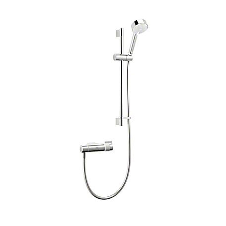 Mira - Agile Eco EV Thermostatic Shower Mixer - Chrome - 1.1736.422 profile large image view 1