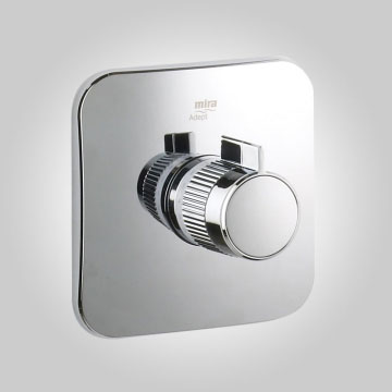 Mira - Adept BIR Thermostatic Shower Mixer - Chrome - 1.1736.405 profile large image view 3