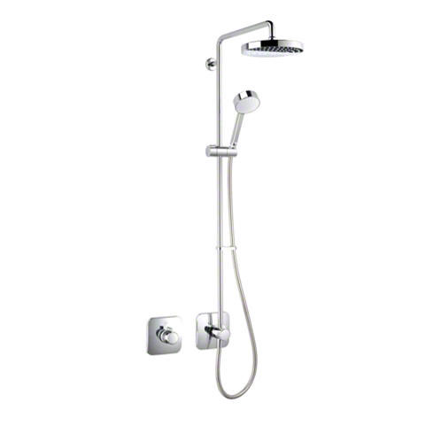 Mira - Adept BRD Thermostatic Shower Mixer - Chrome - 1.1736.406 Large Image