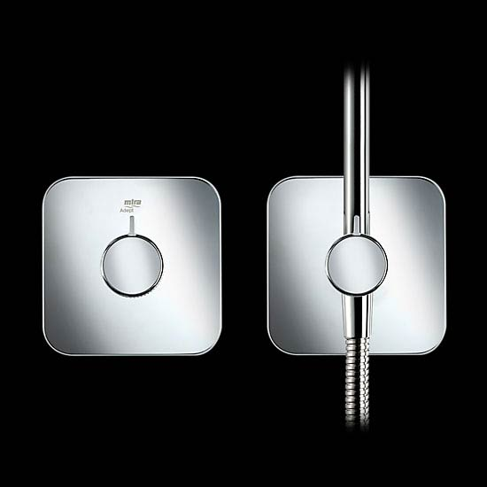 Mira Adept BRD+ Thermostatic Shower Mixer - Chrome - 1.1736.415 profile large image view 2