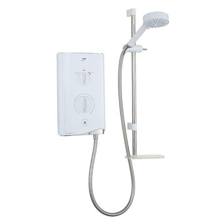 Mira - Sport 9.8kw Thermostatic Electric Shower - White & Chrome - 1.1746.006