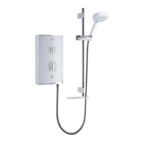 Mira - Sport 9.0kw Thermostatic Electric Shower - White & Chrome - 1.1746.005