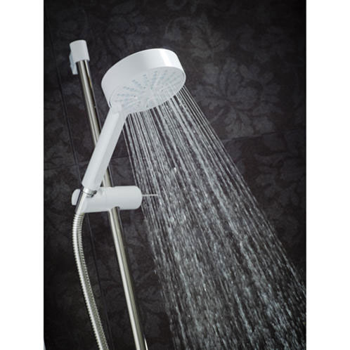 Mira - Sport Multi-fit 9.8kw Electric Shower - White & Chrome - 1.1746.010 Standard Large Image
