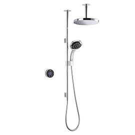 Mira Platinum Dual Ceiling Fed Digital Shower - High Pressure - 1.1796.001