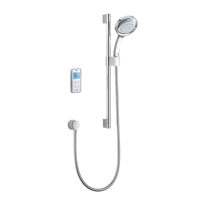 Mira - Vision BIV Rear Fed Pumped Digital Thermostatic Shower Mixer - White & Chrome