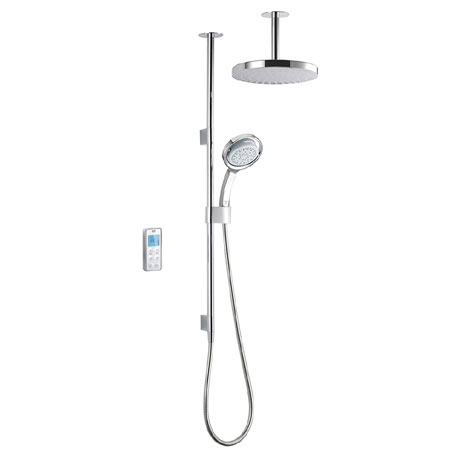 Mira Vision Dual Ceiling Fed Digital Shower - High Pressure - 1.1797.101