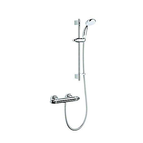 Mira - Coda Pro EV Thermostatic Bar Shower Mixer - Chrome - 1.1836.005 Large Image