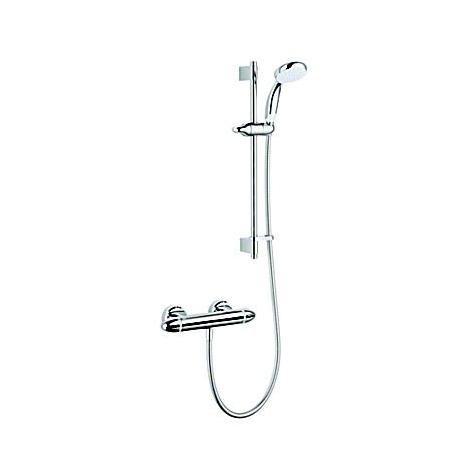 Mira - Coda Pro EV Thermostatic Bar Shower Mixer - Chrome - 1.1836.005
