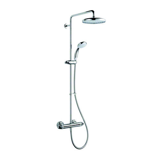 Mira - Coda Pro ERD Thermostatic Bar Shower Mixer - Chrome - 1.1836.006 Large Image