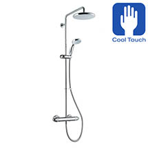 Mira - Coda Pro ERD Thermostatic Bar Shower Mixer - Chrome - 1.1836.006 Medium Image