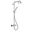 Mira Coda Pro ERD Thermostatic Bar Shower Mixer - Chrome - 1.1836.006 profile small image view 1