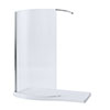 Mira Leap 1400mm Walk-In Shower Panel profile small image view 1