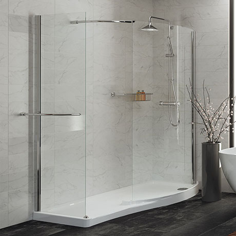Mira Leap Walk-In with Side Panel