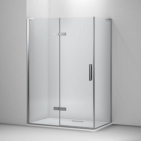 Mira Ascend Hinge Shower Door Corner