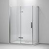 Mira Ascend Hinge Shower Door Corner profile small image view 1